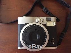 Fujifilm Instax Mini 90 Neo Classic Instant Film Camera NEW. + 20 shots