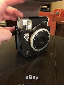 Fujifilm Instax Mini 90 Neo Classic Instant Film Camera Plus Extras