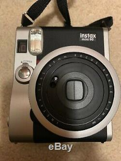 Fujifilm Instax Mini 90 Neo Classic Instant Film Camera with case and film