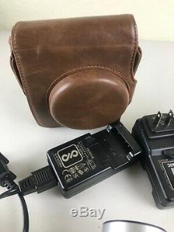 Fujifilm Instax Mini 90 Neo ClassicCamera 4 Chargers 4 OEM Batteries Case