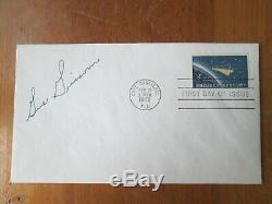 GUS GRISSOM astronaut autographed PROJECT MERCURY First Day Cover Cape Canaveral