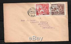 GV 1924 Wembley Exhibition FDC with Wembley Park 1924 Slogan h/s