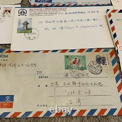 Great Lot Of China Covers Including Fdc, Postal Cards And More