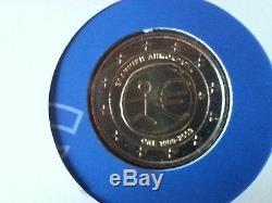 Greece Philatelic-Numismatic Envelope 2 Euro 2009 EMU FDC