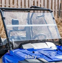 Honda Pioneer 700,700-4 Clear Folding Windshield. A Full 1/4 THICK
