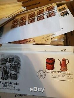 Huge Lot of Over 1,250 US Stamp First Day Covers FDC From Collection