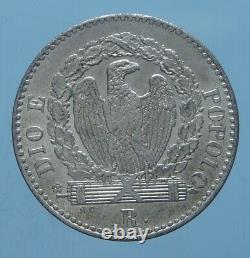 II Repubblica Romana 16 Baiocchi 1849 Roma Fdc