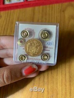 IMPERO AUSTRIACO FRANCESCO GIUSEPPE 1 DUCATO 1915 3,49 gr ORO 986 FDC
