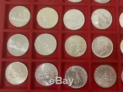 ITALIA Lotto di 40 x 500 lire in argento FDC anni misti dal 1965 in poi FDC