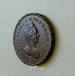 Impero austriaco Milano soldo Maria Teresa 1777 FDC ECCEZIONALE rame rosso