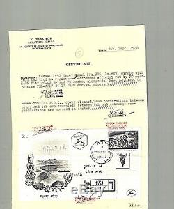 Israel Scott #25 Negev Camel Official Full Tabbed First Day Cover with Cert