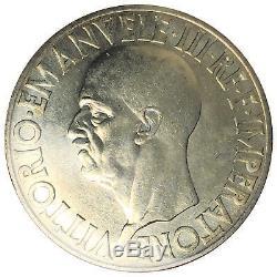 Italia / Italy Vittorio Emanuele III 20 lire 1936 Raro FDC Bazzoni