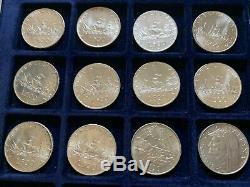Italia Repubblica Lotto di 40 X 500 lire caravelle in argento anni misti FDC