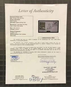 JESSE OWENS JSA LOA Autographed FDC Hand Signed Authentic