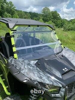 Kawasaki Teryx KRX 1000 Front Folding Windshield -A Full 1/4 THICK