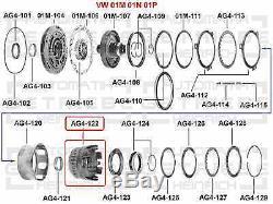 Kupplung K2 Automatikgetriebe VW Audi Seat Skoda AG4 01M 323 105B, 01M323105B