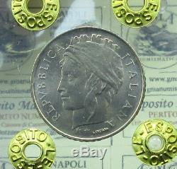 L106/1 Repubblica 100 LIRE 1993 TESTA PICCOLA raro OTTIMO FDC periziato