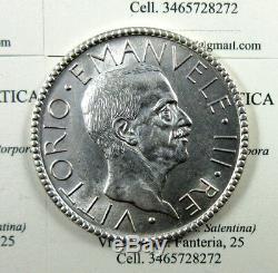 L18/777 Vitt. Eman. III 20 LIRE 1927 LITTORE ottimo SPL-FDC periziato RARO