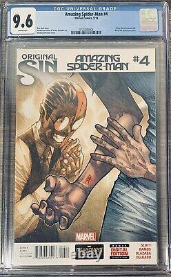 LABOR DAY SALE! The Amazing Spider-Man 4 Silk 1st Appearance CGC 9.6! Not 9.8