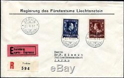 Liechtenstein 1951 304-305a Tadelloser Fdc 1300++s7411
