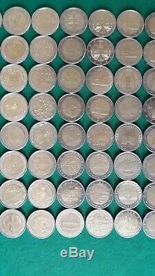 Lotto N° 128 Monete Da 2 Euro Commemorative Rare Fdc/ Unc Collezione Privata
