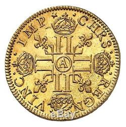Louis XIII Louis d'or de Warin état exceptionnel Fleur de Coin PCGS MS66 FDC+++