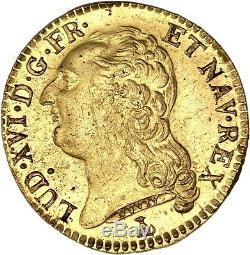 Louis XVI Splendide Louis d'or 1786 Nantes brillant de frappe SPL/FDC