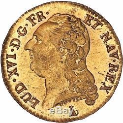 Louis d'or 1786 T Nantes Flan miroir Qualité FDC