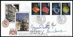 MARGARET THATCHER, JOHN MAJOR & TED HEATH Signed European Elections FDC