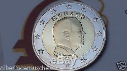 MONACO 2 euro 2013 fdc assoluto BU Principe ALBERTO prince albert II