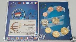 MONACO 8 monete 2001 3,88 EURO fdc UNC