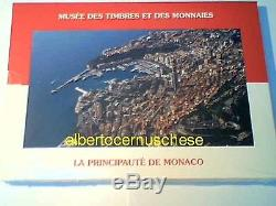MONACO 8 monete 3,88 EURO 2009 fdc ORIGINALE Albert Alberto Monako