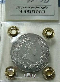 Milano 20 kreuzer d'argento Francesco I 1819 FDC