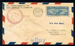 Momen US Stamps #C15 Graf Zeppelin FDC APRIL 19 1930 VF