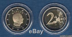Monaco 2006 2 Euro FDC BE Albert II pièce neuve du Coffret 11180 Exemplaires M