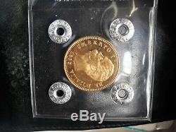 Moneta Regno. Oro Umberto 1 20 lire fdc1883 assoluto PERIZIATA no Lotto