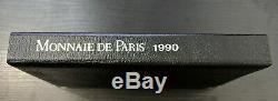 Monnaie de Paris Coffret FDC Fleur de Coin 11 pièces 1990