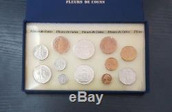 Monnaie de Paris Coffret FDC Fleur de Coin 12 pièces 1987