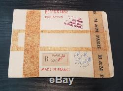 Monnaie de Paris Série FDC Fleur de coin 1968 8 pièces Type enveloppe
