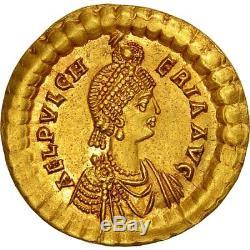 Monnaies antiques, Pulchérie, Augusta, Solidus, Constantinople, FDC #508358