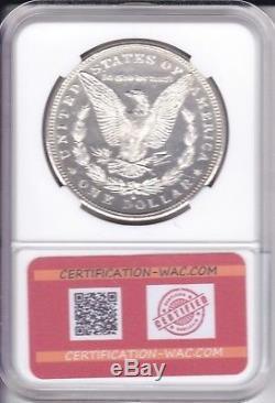 Morgan One Dollar 1881. S San Francisco Silver/argent U. S. A Fdc