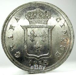 NAPOLI-Due Sicilie 1838 (Ferdinando II) 5 Grana-FDC