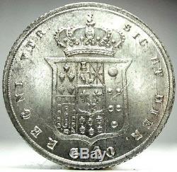 NAPOLI-Due Sicilie (Ferdinando II) 20 Grana 1855-FDC