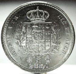 NAPOLI-Due Sicilie (Francesco I) 120 Grana 1825, FDC