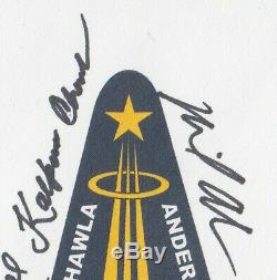 NASA STS-107 Crew Signed Cover Space Shuttle NOT First Day FDC Columbia Disaster