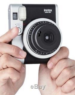 NEW Fuji Instax mini 90 Neo Classic Instant Film Camera Fujifilm + 60 FILM