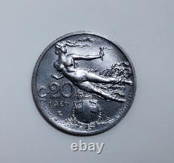 #NS- 20 Centesimi Librata 1926 (Serie per Numismatici) RARA FDC / ITALY COIN