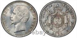 Napoléon III 5 Francs 1856 Paris Magnifique exemplaire Fleur de Coin