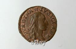 Napoli. Ferdinando IV. 3 Cavalli. 1788. NC. FDC. #Z141