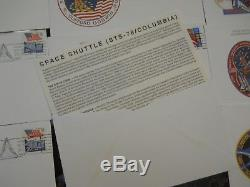 Nasa Space Shuttle Complete Set Of First Day Covers For All 135 Missions (new)